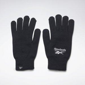 Перчатки Sports Essentials Logo Reebok. Цвет: black