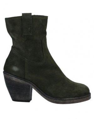 Полусапоги и высокие ботинки ENTOURAGE. Цвет: зеленый-милитари