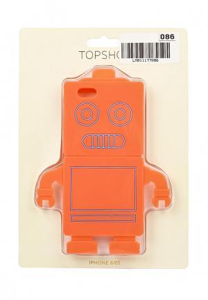 Чехол для iPhone Topshop 6/6s. Цвет: коралловый