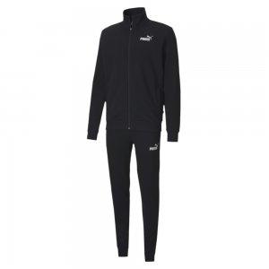 Спортивный костюм Clean Sweat Suit PUMA. Цвет: черный