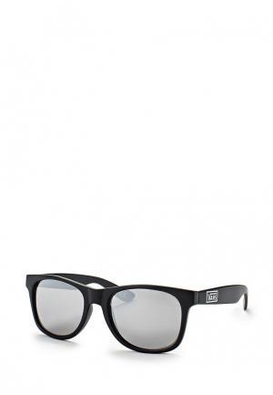 Очки солнцезащитные Vans M SPICOLI 4 SHADES Matte Black/Sil. Цвет: черный