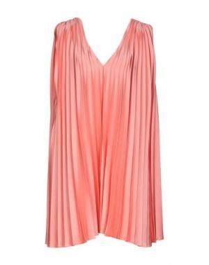 Короткое платье ALBINO. Цвет: розовый