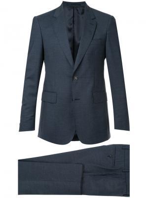 Классический деловой костюм Cerruti 1881. Цвет: синий