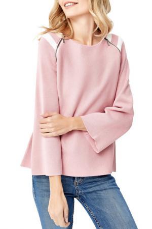 Пуловер MANODE. Цвет: pink, white