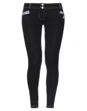 Джинсовые брюки-капри FREDDY WR.UP®. Цвет: черный