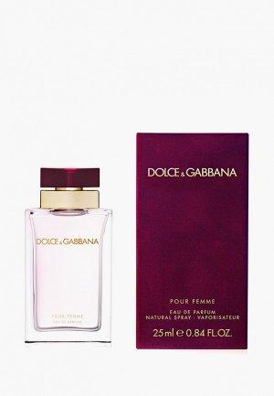 Парфюмерная вода Dolce&Gabbana Pour Femme, 25 мл. Цвет: прозрачный
