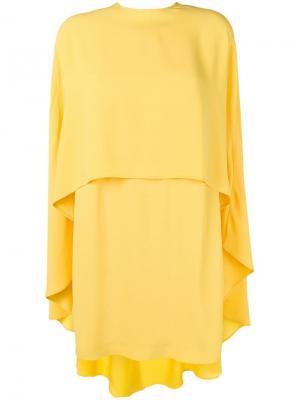 Платье-кейп Sara Battaglia