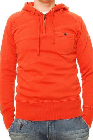 Свитшот Denham. Цвет: оранжевый