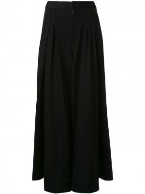 Юбка макси с завышенной талией Maison Mihara Yasuhiro. Цвет: черный