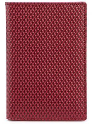 Классический бумажник Comme Des Garçons Wallet. Цвет: красный