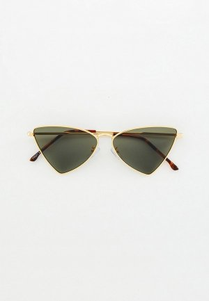 Очки солнцезащитные Bocciolo. Цвет: золотой
