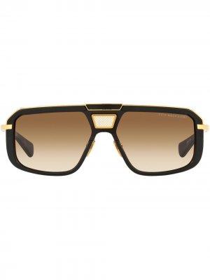 Солнцезащитные очки Mach-8 Dita Eyewear. Цвет: черный