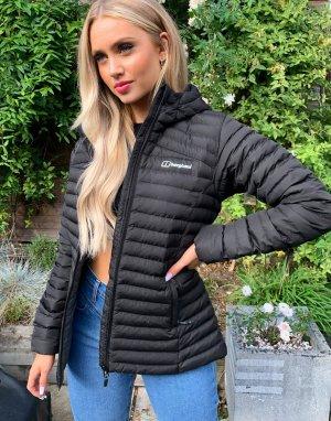 Черная куртка с капюшоном Nula Micro-Черный Berghaus
