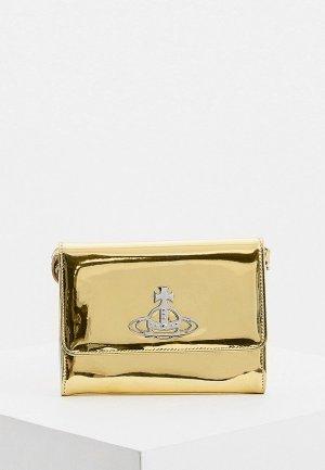 Клатч Vivienne Westwood. Цвет: золотой