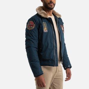 Куртка-пилот LaRedoute. Цвет: синий
