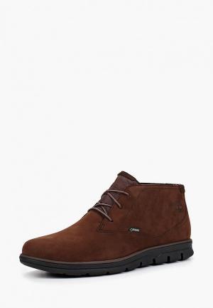 Ботинки Timberland Bradstreet Casual Ch DARK BROWN. Цвет: коричневый