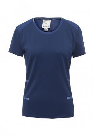Футболка спортивная adidas SN 37C TEE W. Цвет: синий