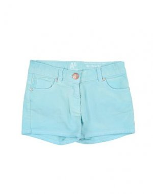 Джинсовые шорты AMERICAN OUTFITTERS. Цвет: небесно-голубой