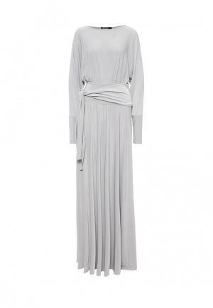 Платье Zerkala. Цвет: серый