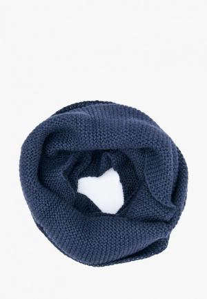 Снуд Forti knitwear Рея. Цвет: синий