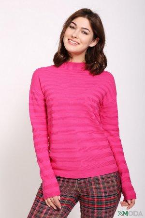 Пуловер Oui. Цвет: розовый
