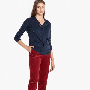 Пуловер с круглым вырезом MACALA SUD EXPRESS. Цвет: синий