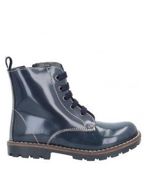 Полусапоги и высокие ботинки EUREKA. Цвет: темно-синий
