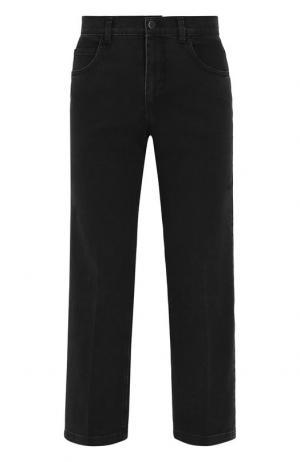 Укороченные джинсы с потертостями Rachel Comey. Цвет: черный