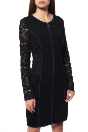 Платье Caractere. Цвет: черный, синий