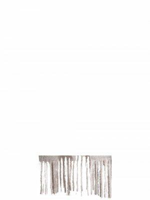Fringed-hem coat Alysi. Цвет: нейтральные цвета