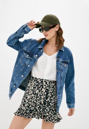Куртка джинсовая Mavi DRAKE. Цвет: синий