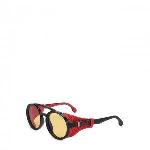 Солнцезащитные очки Carrera. Цвет: чёрный