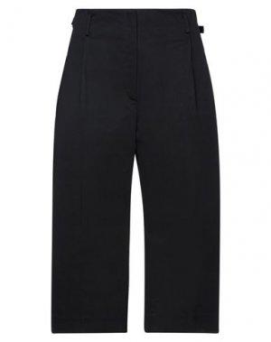 Укороченные брюки TELA. Цвет: черный