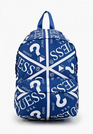 Рюкзак Guess. Цвет: синий
