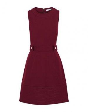 Короткое платье DEREK LAM 10 CROSBY. Цвет: красно-коричневый