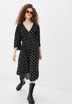 Платье Billabong DREAM BIG. Цвет: черный