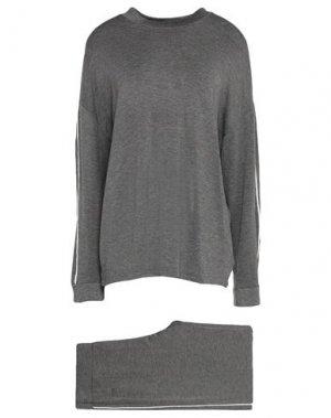 Пижама FEMILET. Цвет: серый