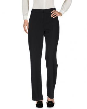 Повседневные брюки ANNA RACHELE. Цвет: черный