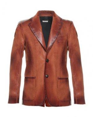 Пиджак MARNI. Цвет: коричневый