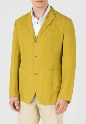 Пиджак btc. Цвет: желтый