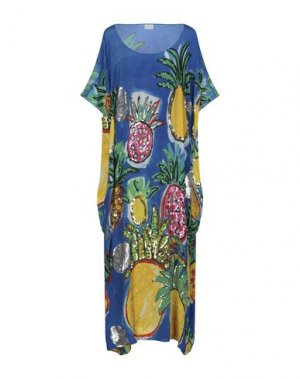 Длинное платье BONITA. Цвет: синий