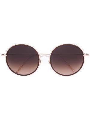 Солнцезащитные очки Coco II Frency & Mercury. Цвет: золотистый