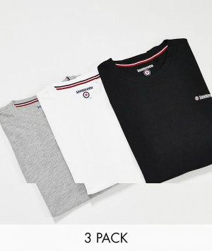 Набор из 3 футболок для дома -Многоцветный Lambretta