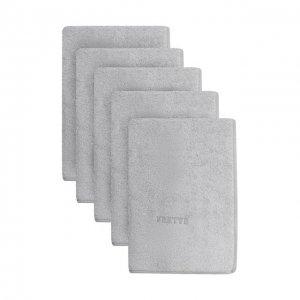 Комплект из 5-ти полотенец Frette. Цвет: серый