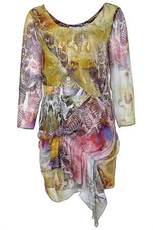 Платье Faith. Цвет: цветной