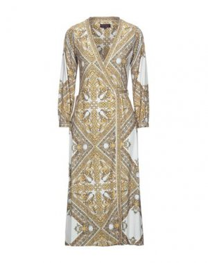 Платье длиной 3/4 HALE BOB. Цвет: охра