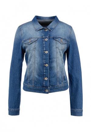 Куртка джинсовая Mavi. Цвет: синий