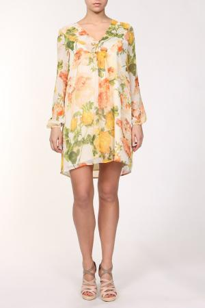 Платье Joe Suis. Цвет: желтый