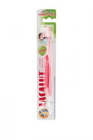 Зубная щетка KIDS с 4- LACALUT. Цвет: белый