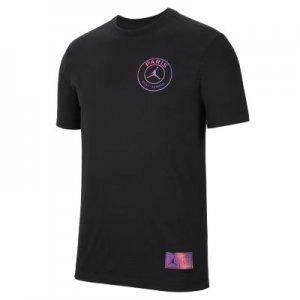 Мужская футболка Paris Saint-Germain Logo - Черный